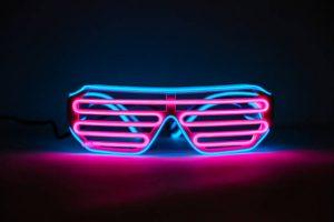 Gafas o lentes coloridos